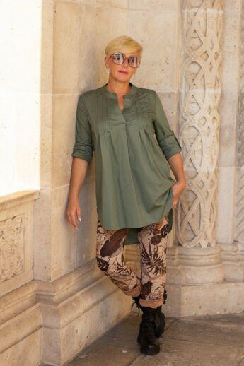 Grace khaki zöld ing
