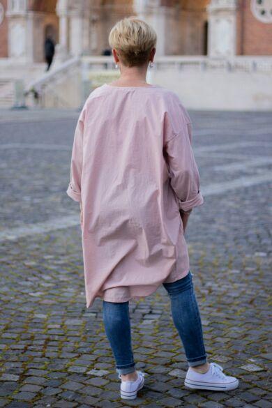 Cinzia púder színű felső