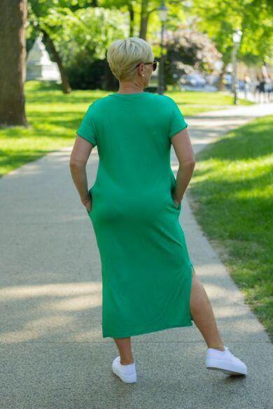 Stefani zöld pamut tunika