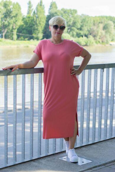 Stefani lazac színű pamut tunika