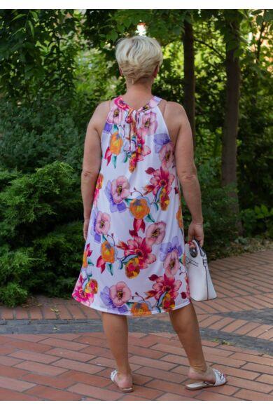 Kiara színes virágos mintás ruha