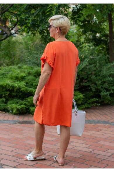 Lavinia narancs színű tunika-ruha