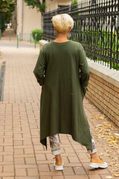 Harper khaki zöld színű tunika