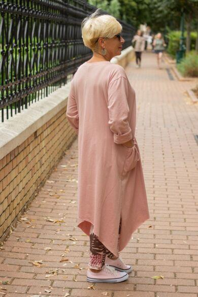 Harper púder színű tunika