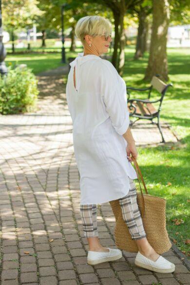 Madison fehér színű ing-tunika