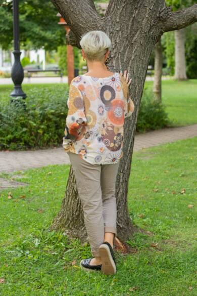Isabel Vékony kötött pulóver
