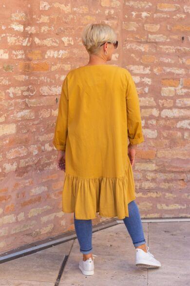 Zahara mustár színű tunika