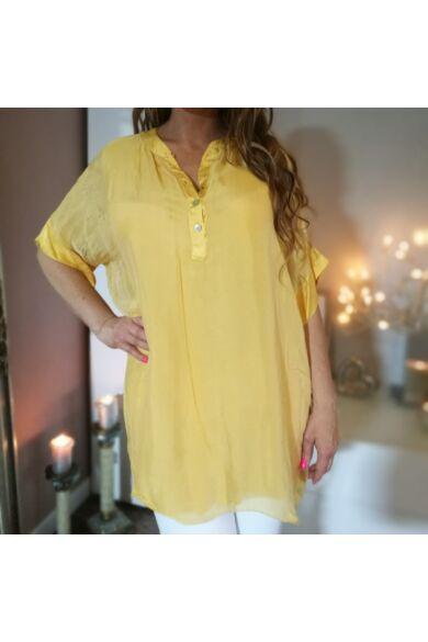 Nap sárga selyem  ing.