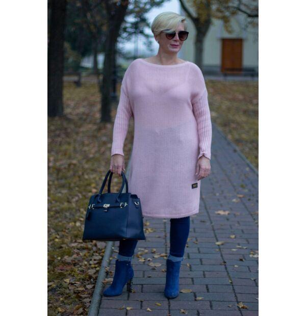 Nancy púder színű kötött tunika