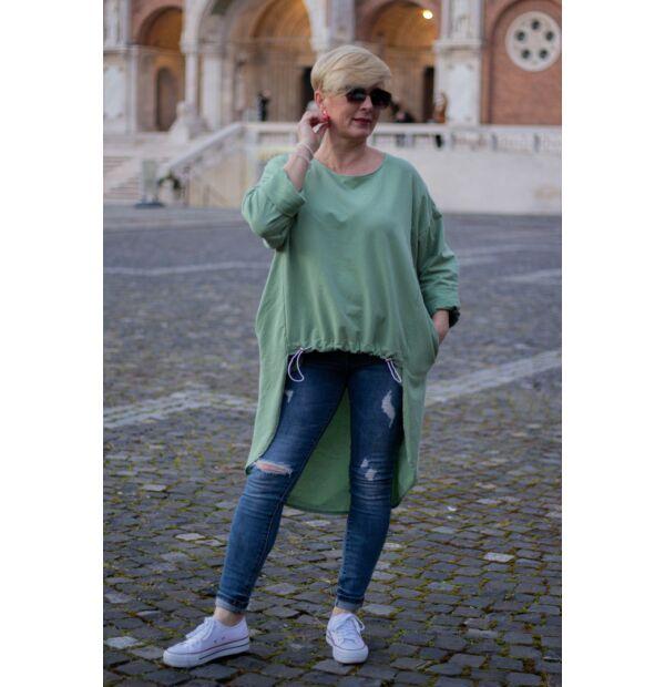 Cinzia menta zöld színű felső