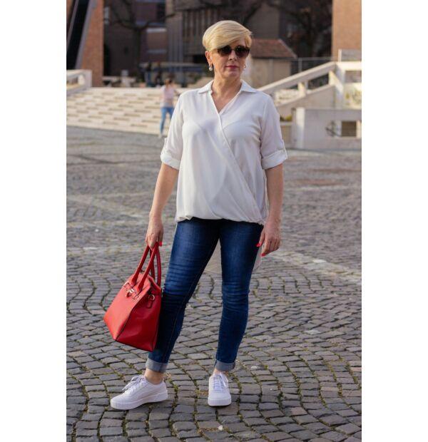 Abír fehér színű ing