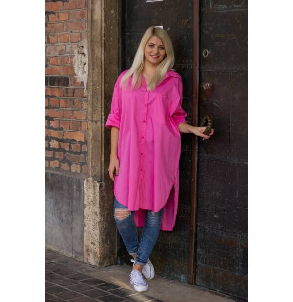 Bona  pink színű ing-tunika