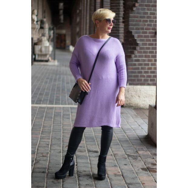 Nancy lila kötött tunika