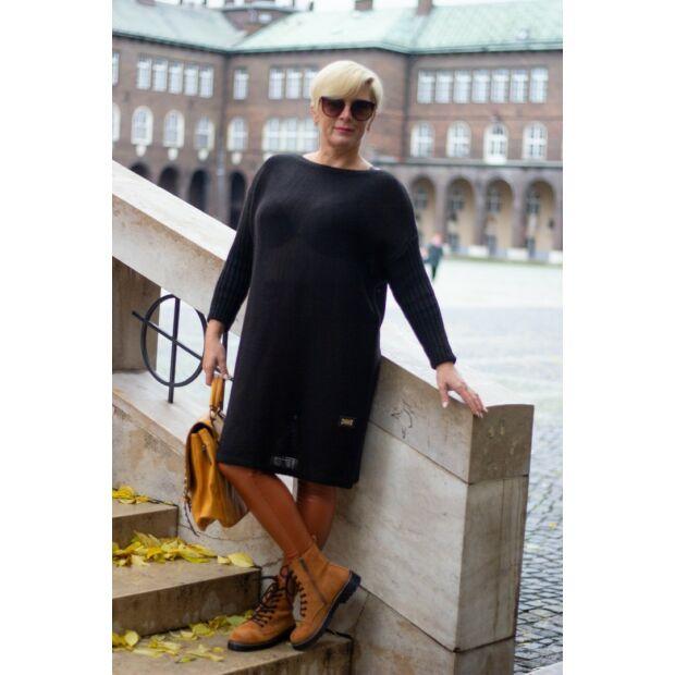 Nancy fekete kötött tunika