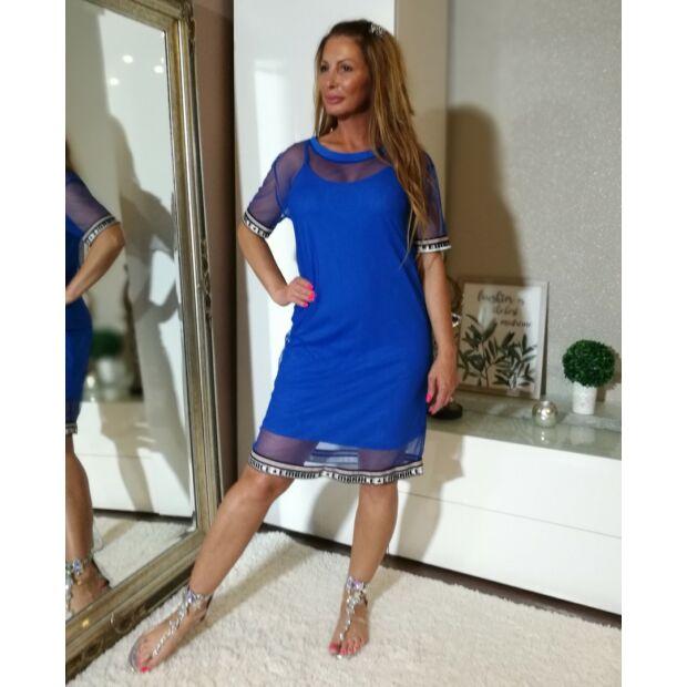 Kék 2-részes pamut és tűl ruha